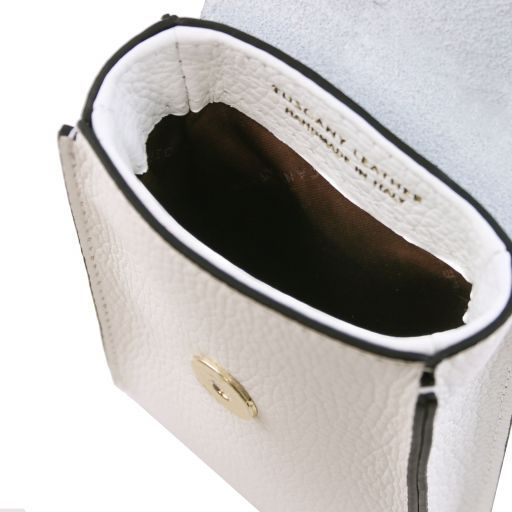 TL Bag Tracollina Portacellulare in pelle Bianco TL141865