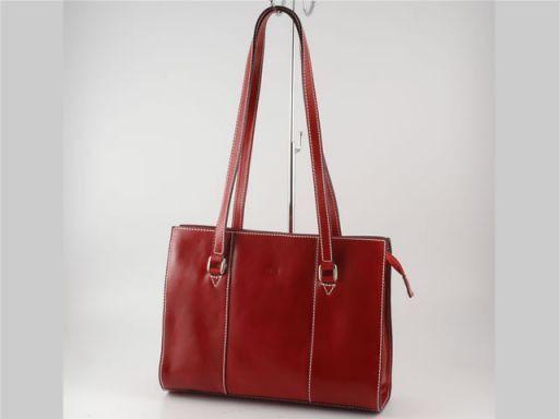 Rosy Borsa in pelle da donna - Misura piccola Rosso TL608