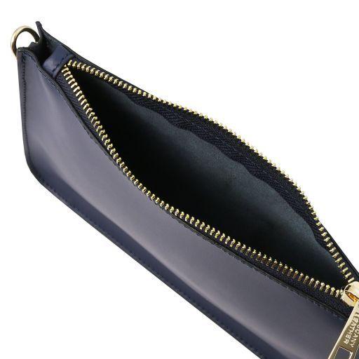 Cassandra Pochette in pelle Blu scuro TL141870