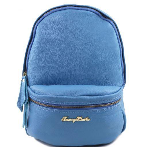TL Bag Soft leather backpack for women Светло-голубой TL141320