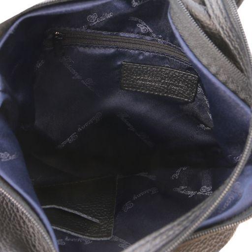 Shanghai Leather backpack Черный TL141881