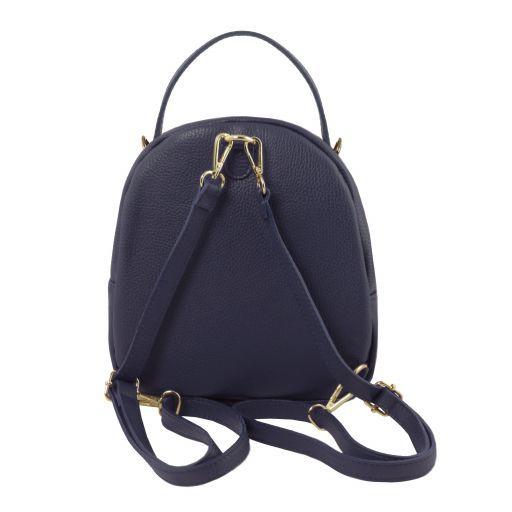 TL Bag Leather backpack for women Dark Blue TL141743
