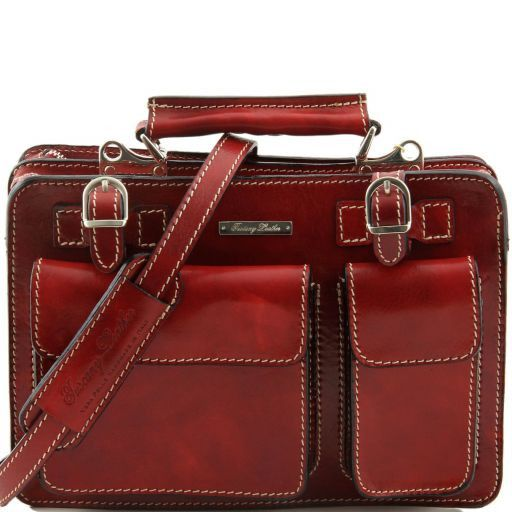 Tania Leather lady handbag Red TL6021
