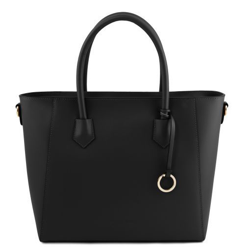 Aria Borsa shopping in pelle Nero TL141823