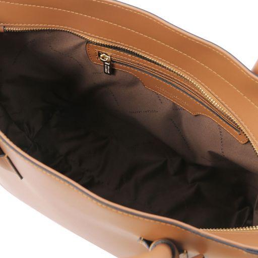 Aria Borsa shopping in pelle Cognac TL141823