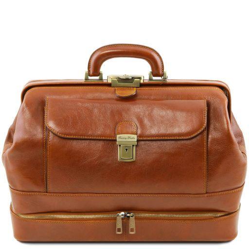 Giotto Exklusive Arzttasche mit Doppel-Boden Honig TL141297