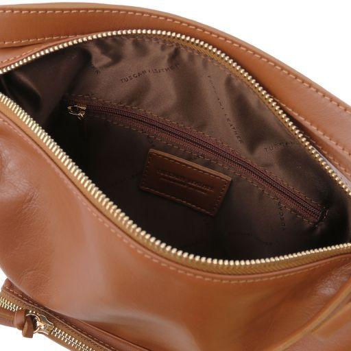 TL Bag Schultertasche aus Kalbsleder Cinnamon TL141535
