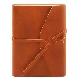 Leather travel diary Honey TL141925