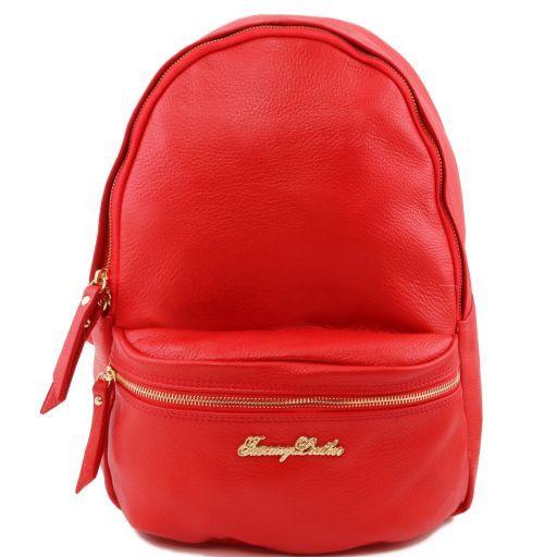 TL Bag Zaino donna in pelle morbida Rosso TL141370