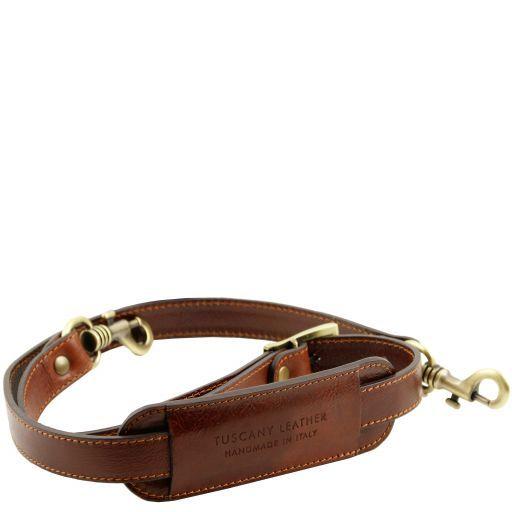 TL Voyager Adjustable leather shoulder strap Brown TL141929