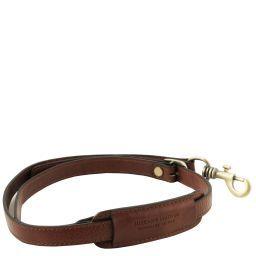 Adjustable briefcases leather shoulder strap Brown TL141931