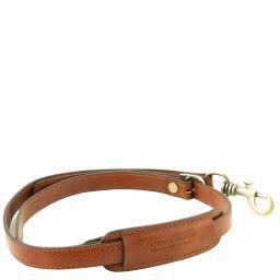 Adjustable briefcases leather shoulder strap Honey TL141931