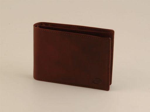 Esclusivo portafoglio uomo in pelle Testa di Moro TL140260