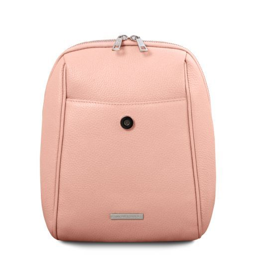 TL Bag Soft leather backpack Ballet Pink TL141905