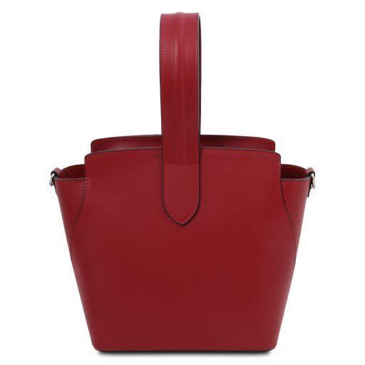 Gea Leather handbag Red TL141909