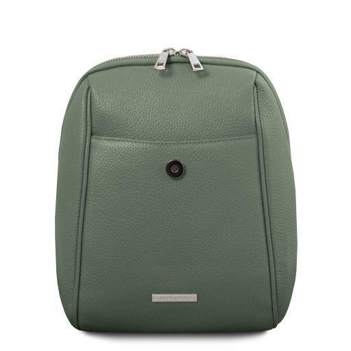 TL Bag Soft leather backpack Mint Green TL141905