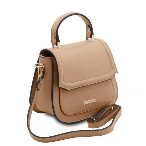 TL Bag Leather handbag Champagne TL141941