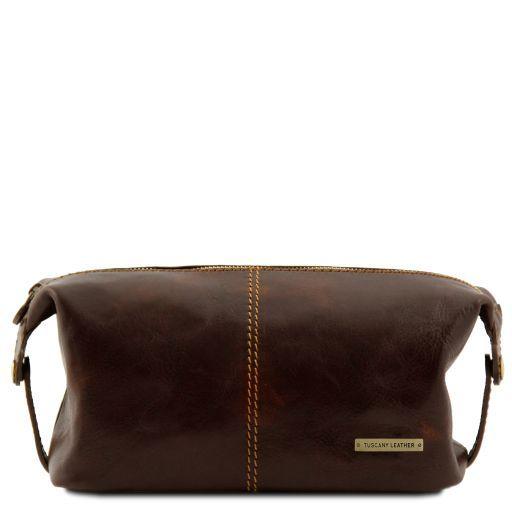 Roxy Leather toilet bag Dark Brown TL140349