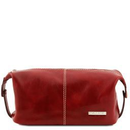 Roxy Leather toilet bag Red TL140349
