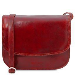 Greta Sac bandoulière en cuir Rouge TL141958