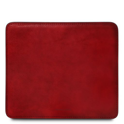 Mauspad aus Leder Rot TL141891