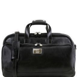 Samoa Trolley leather bag - Small size Black TL141452
