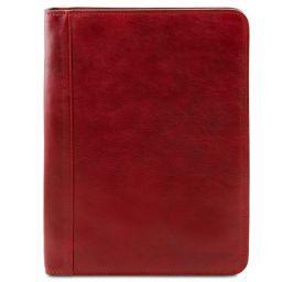 Ottavio Leather document case Red TL141294