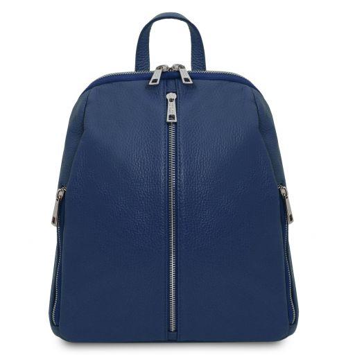 TL Bag Soft leather backpack for women Dark Blue TL141982