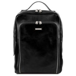Bangkok Zaino porta notebook in pelle Nero TL141793