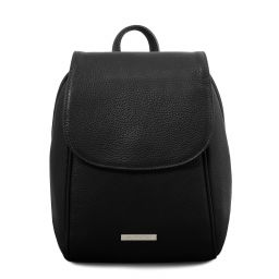 TL Bag Soft leather backpack Black TL141905