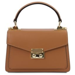 TL Bag Mini borsa in pelle Cognac TL141994