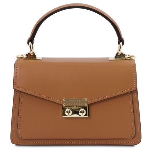 TL Bag Leather mini bag Cognac TL141994