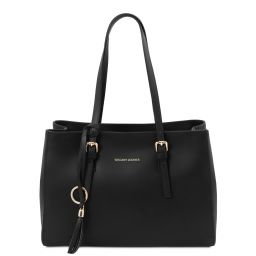 TL Bag Leather shoulder bag Черный TL142037