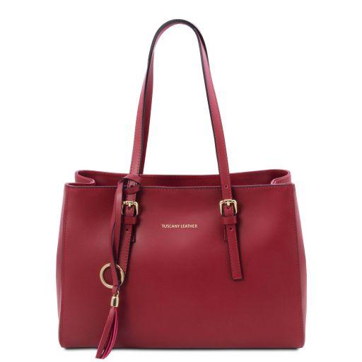 TL Bag Leather shoulder bag Red TL142037