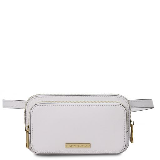 TL Bag Leather fanny pack White TL141999