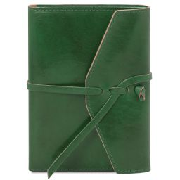 Leather journal / notebook Forest Green TL142027
