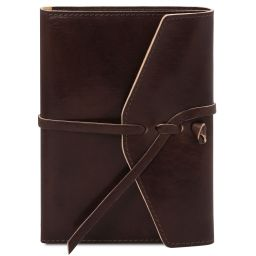Leather journal / notebook Dark Brown TL142027