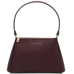 TL Bag Mini borsa in pelle Bordeaux TL141997