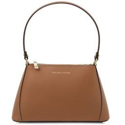 TL Bag Mini borsa in pelle Cognac TL141997