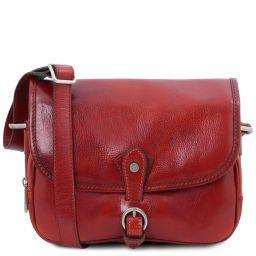 Alessia Schultertasche aus Leder Rot TL142020