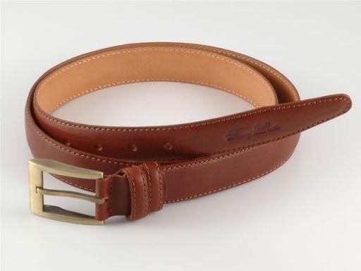 Esclusiva cintura in pelle Marrone TL140317