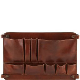 TL Smart Module Leather multifunctional module with pockets Brown TL141520