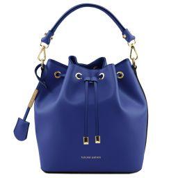 Vittoria Sac secchiello pour femme en cuir Bleu TL141531
