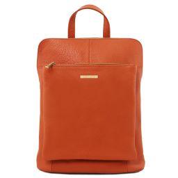 TL Bag Mochila para mujer en piel suave Brandy TL141682