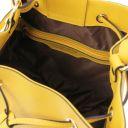 Minerva Bolso cubo secchiello en piel Amarillo TL142050