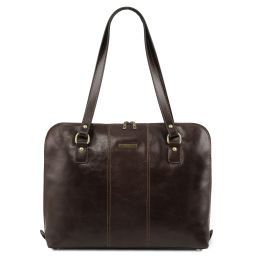 Ravenna Exclusive lady business bag Dark Brown TL141795
