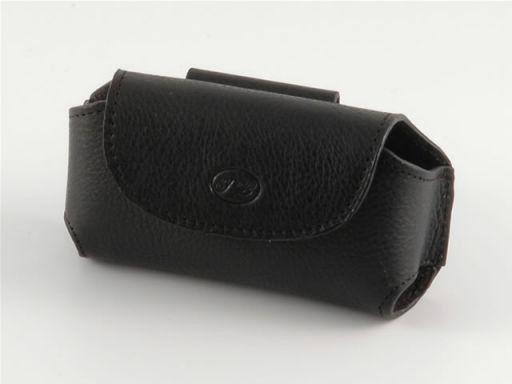 Porta móvil en piel Negro TL140324