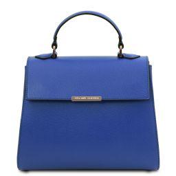 TL Bag Petite Sac bauletto en cuir Bleu TL142051
