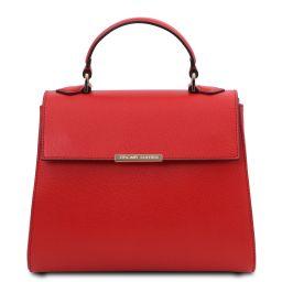 TL Bag Petite Sac bauletto en cuir Rouge Lipstick TL142051