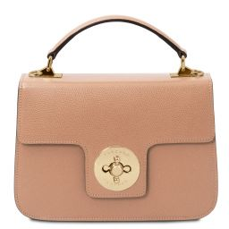 TL Bag Leather handbag Nude TL142078